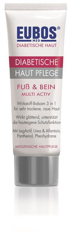 Eubos Diabetische Hautpflege Fuß & Bein (100 ml)