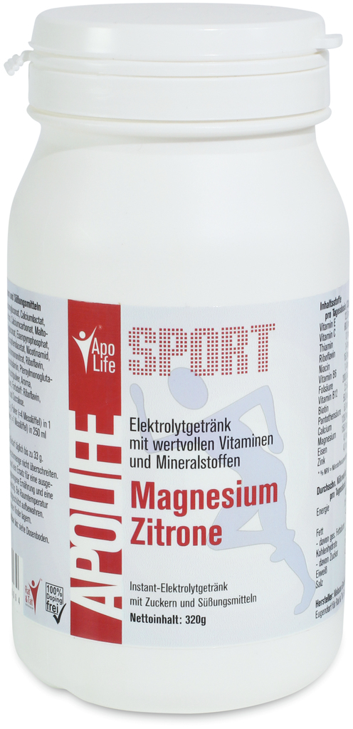 ApoLife Sport Magnesium Zitrone bei Valsona online kaufen